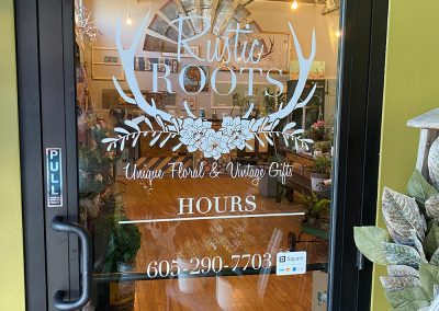 Building LEASED: Rustic Roots Specialty Florists