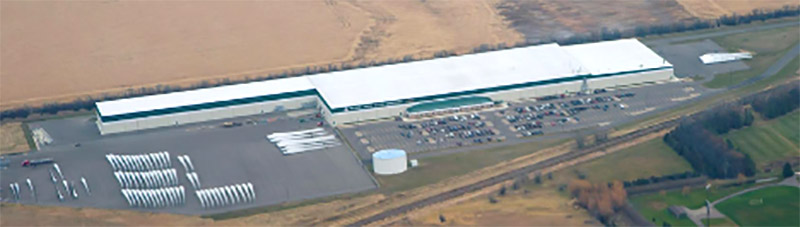 Building SOLD: Wind Blade Manufacturing Plant